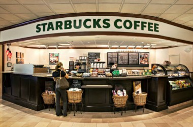 Los Angeles Airport Marriott Starbucks coffee