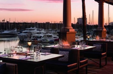 Ritz Carlton Marina Del Rey LAX waterfront dining