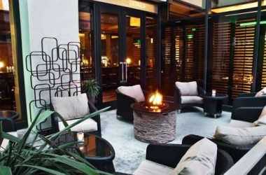 Westin Los Angeles Airport Fire Pit